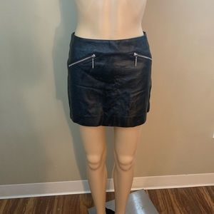 H&M Mini Leather Skirt